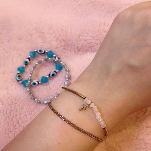 Bundle of three cute bracelet